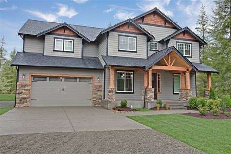 two story craftsman exterior two story craftsman exterior seattle by