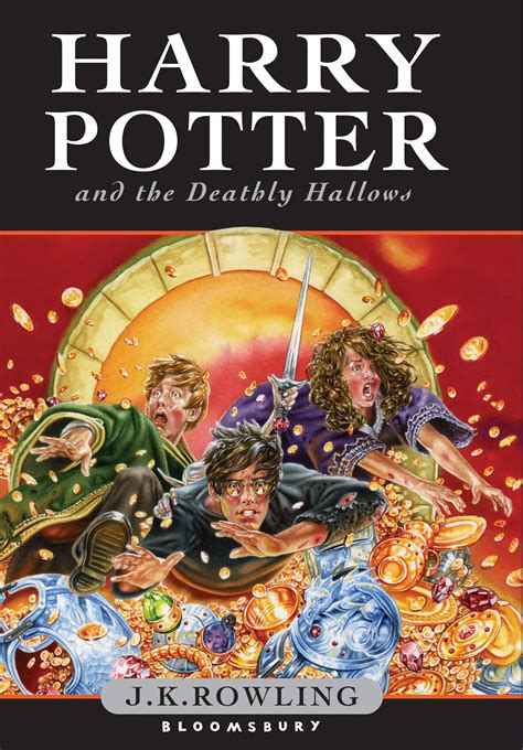 harry potter book picture deathly hallows uk children s edition harry potter fan zone