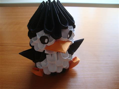 how to do 3d origami 3d origami penguin tutorial
