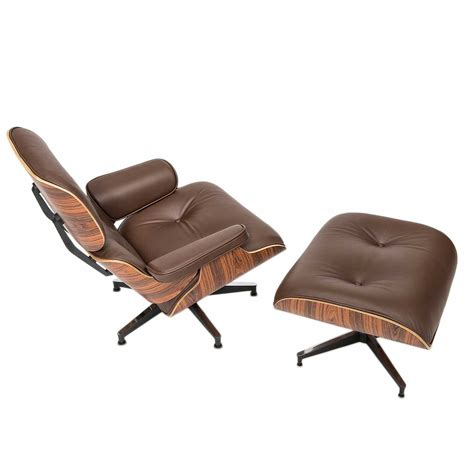 chair ottoman eames designed lounge chair with ottoman a steelform