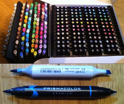 prismacolor markers copic and prismacolor marker collection by yuureikun on