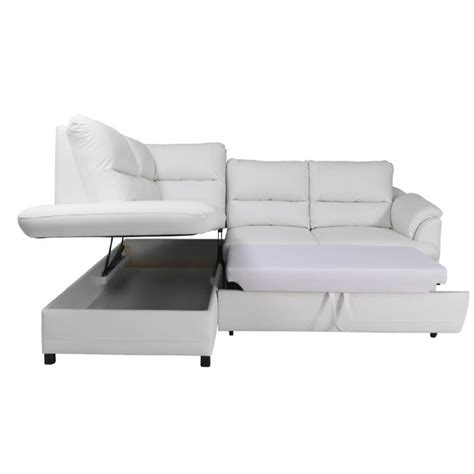 modern leather sofa bed gustavo modern leather corner sofa bed sofas home