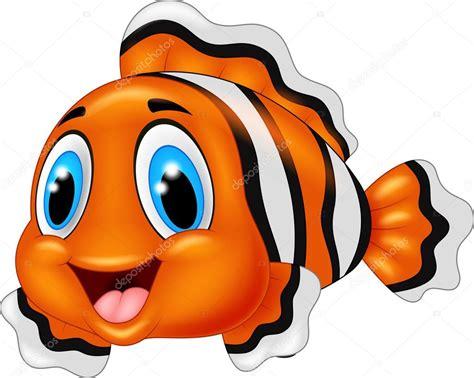 可爱的小丑鱼卡通摆姿势 — 图库矢量图像© tigatelu #82289184
