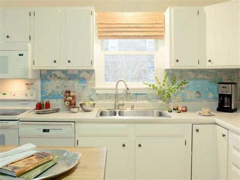 inexpensive backsplash ideas for kitchen 24 cheap diy kitchen backsplash ideas and tutorials you