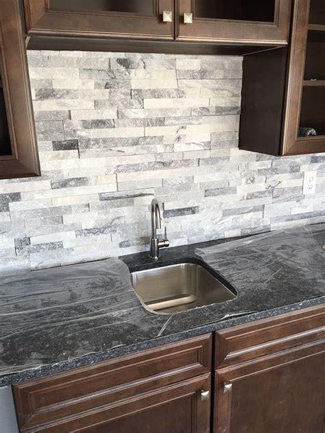 marble tile backsplash kitchen stacked is a great bar backsplash home bar entertainment ideas home bar