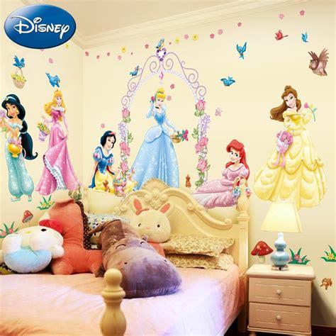 Tree Wall Mural Decal disney princess wall decals lighten your little girl s