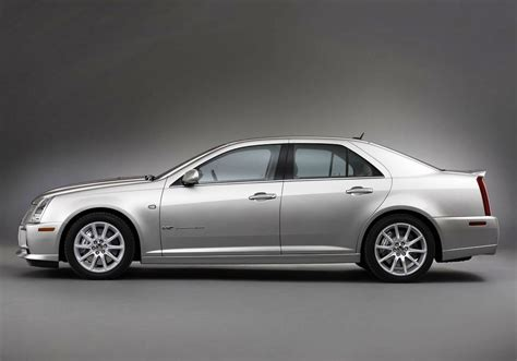 with sts cadillac sts silver colour car pictures images