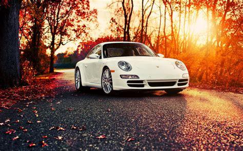 Car Wallpaper Hd 1920x1080 Nature by Wallpapers Porsche 911 Car Autumn Leaf Sunset Porsche