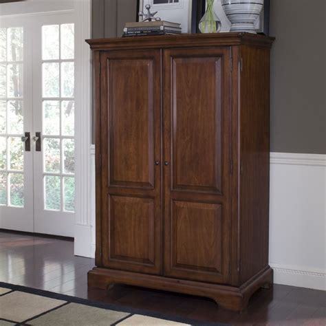 cherry computer armoire riverside furniture cantata burnished cherry computer