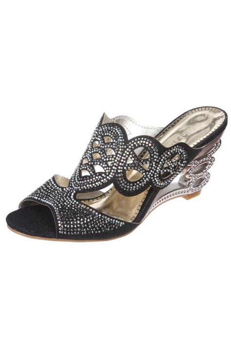 beaded wedge sandals fashion beaded wedge sandal from baltimore by