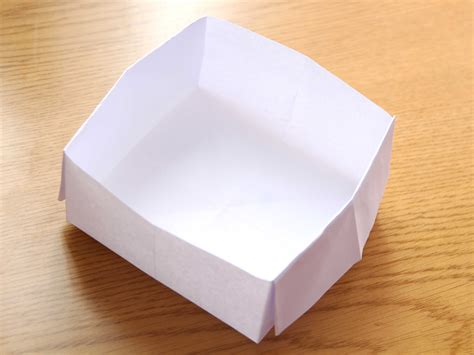 how to make a origami paper box how to make an origami box with printer paper 12 steps