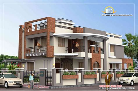 duplex house plans india duplex house plan and elevation 4217 sq ft indian
