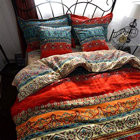 boho comforter set yoyomall 2015 new boho style duvet cover set colorful