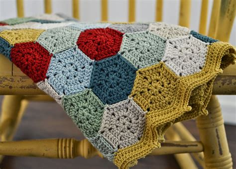 crocheting with midge mowgli crochet hexagon blanket for baby boy