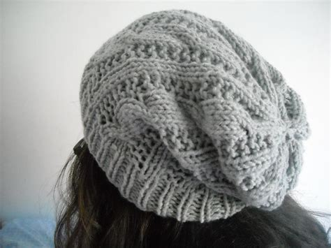 knit beanie pattern easy sale easy cableknit beanie hat by aytulgift craftsy
