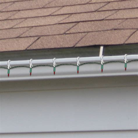 metal roof light clip gutter light 24 pack