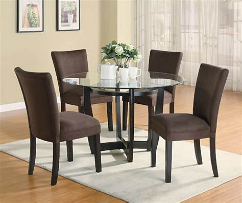 modern furniture dining sets modern dining room set with brown chairs casual