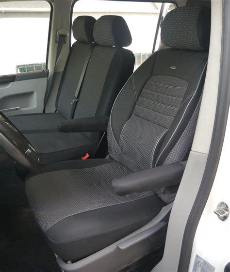 Schonbez Ge Auto T5 by Autositzbez 252 Ge Vw T5 Transporter Fahrersitz Und Bank