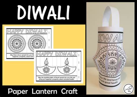 diwali paper lantern craft early years and design resources