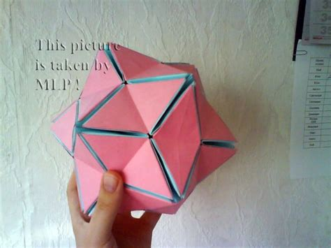 how to make origami sphere color origami