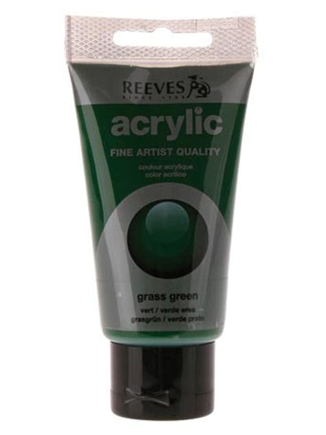 reeves acrylic paint quality papertree reeves acrylic paint grass green