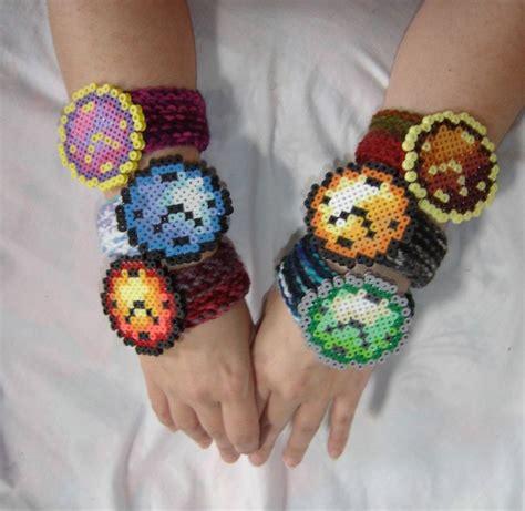 perler bead bracelet crochet bracelet with perler bead birthday
