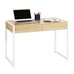 white oak desk sheffield 2 drawer desk white oak officeworks