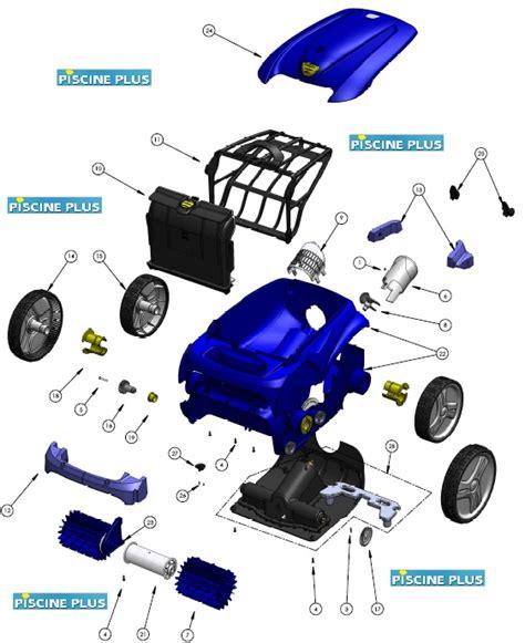 robot zodiac vortex 3 pi 232 ces d 233 tach 233 es bloc moteur filtre c 226 ble accessoires cassette