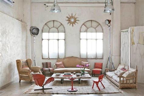 vintage home interiors bohemian loft apartments in madrid home design and interior