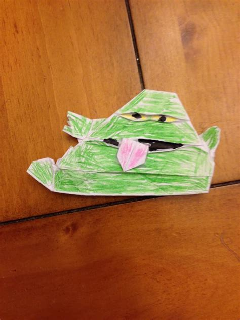 how to fold the real origami yoda real jabba the puppet origami yoda