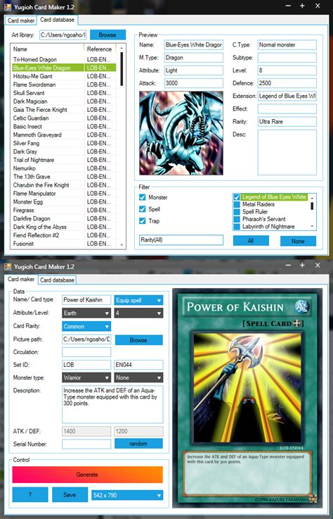 card make yu gi oh card maker mac