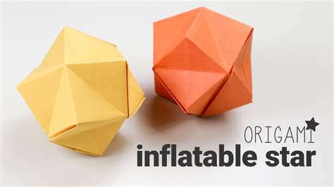 origami up origami tutorial stellated octahedron