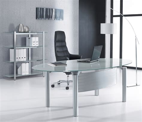 office desk glass glass office desks executive glass desks solutions 4
