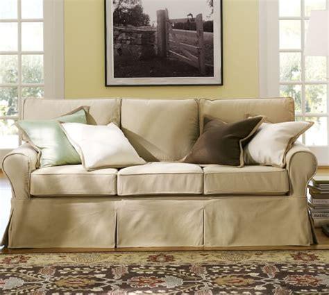 slipcover sofa pottery barn pottery barn slipcovered sofa home furniture design
