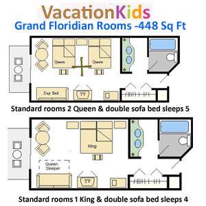 grand floridian floor plan rooms at grand floridian
