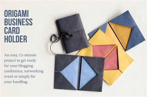 origami business card holder origami business card holder tutorial and simple