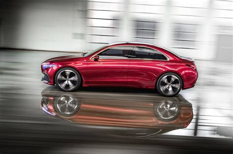 Mercedes Concept Car by Mercedes Concept A Sedan Revealed Cars Co Za