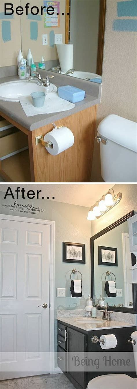 Cheap Bathroom Makeover Ideas by Before And After Makeovers 20 Most Beautiful Bathroom