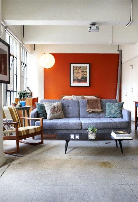 orange paint colors for living room living room orange paint le house