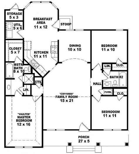2 bedroom ranch house plans amazing 2 story ranch style house plans new home plans design