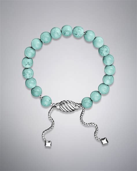 spiritual bead bracelet david yurman spiritual bead bracelet in blue turquoise