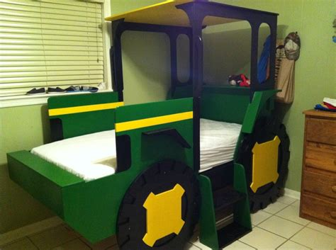 deere bed deere tractor bed my husband made
