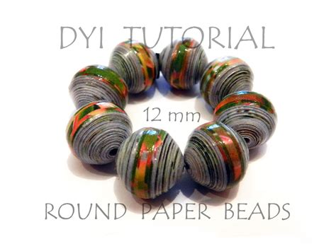 how to make bead diy tutorial how to make paper medium size 12mm