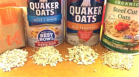 Types of Oatmeal   Is All Oatmeal Created Equal?