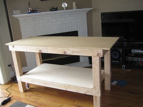 make a woodworking bench wooden how to build a work bench pdf plans
