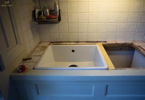 ikea kitchen sink installation undermount single bowl ikea domsj 246 sink for a vintage