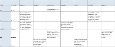 how to create and manage a social media schedule in 3 easy
