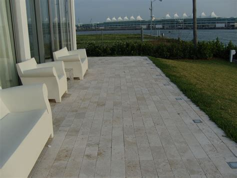 modern patio tiles ivory travertine deck tiles and pavers modern patio