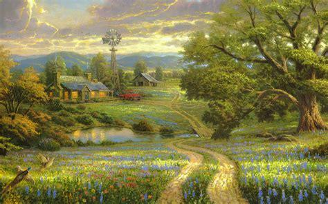 painting landscapes landscape paintings 12 free hd wallpaper hivewallpaper