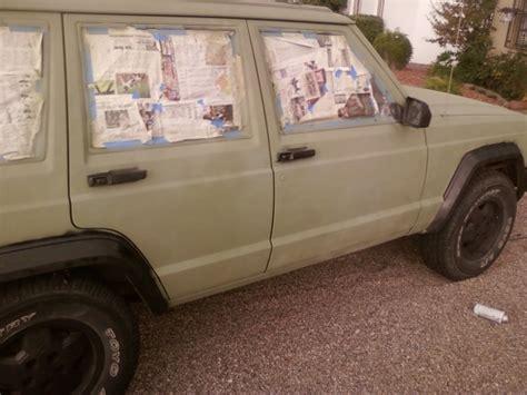 spray painting jeep xj spray paint jeep forum